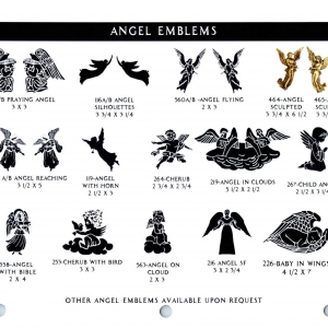ANGEL EMBLEMS