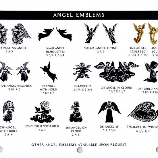 ANGEL EMBLEMS