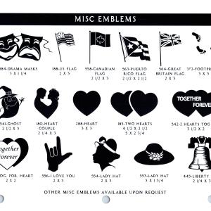 MISC EMBLEMS 2