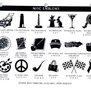 MISC EMBLEMS 3