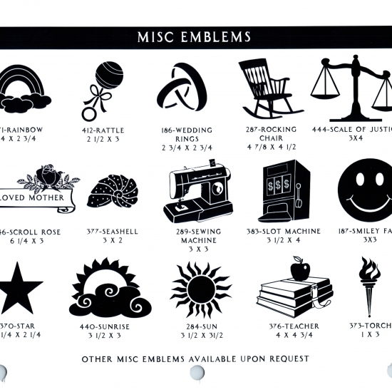 MISC EMBLEMS 4