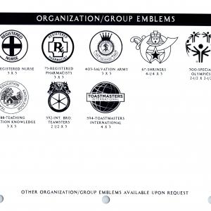 ORGANIZATIONS EMBLEMS 3