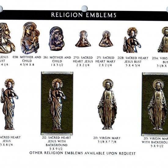 RELIGION EMBLEMS