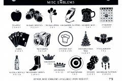 MISC EMBLEMS 1