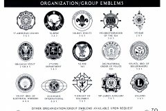 ORGANIZATIONS EMBLEMS 1