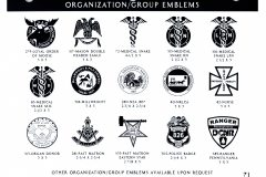 ORGANIZATIONS EMBLEMS 2