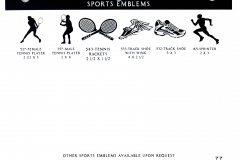 SPORTS EMBLEMS 3