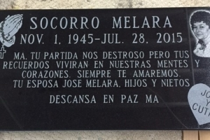 Black Granite memorial