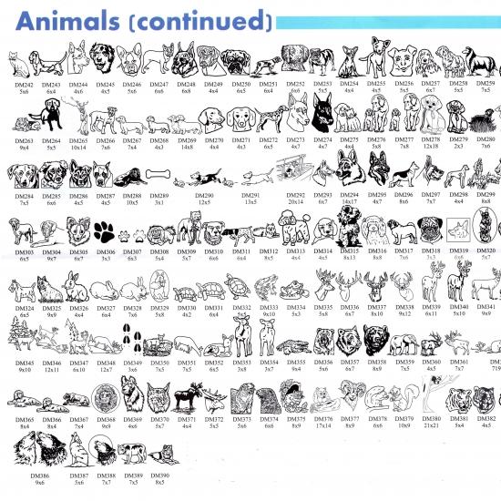Animals cont