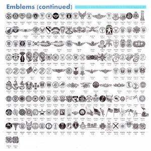 Emblems Cont
