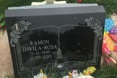 black slant memorial
