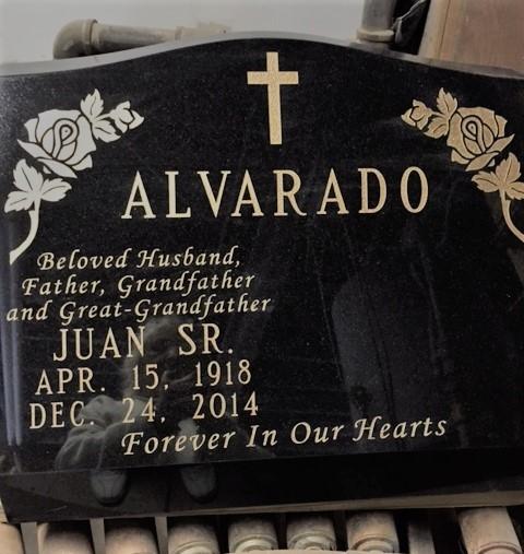 COMPLETED SLANT ALVARADO